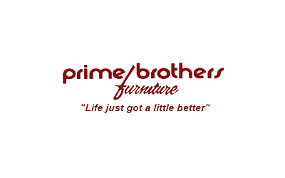 prime brothers furniture logo