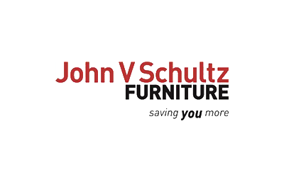 john v. schultz furniture logo