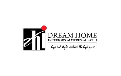 dream home interiors furniture logo