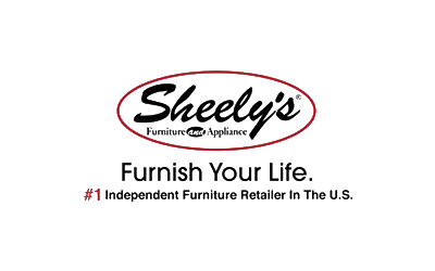 sheelys furniture logo